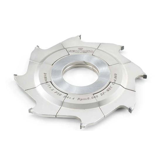 Fresa per canali registrabile con mozzo centrato [H=6 mm] utensil centro