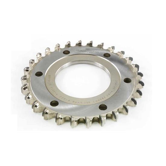 Truciolatore monoblocco raggiato - H=6 mm utensil centro