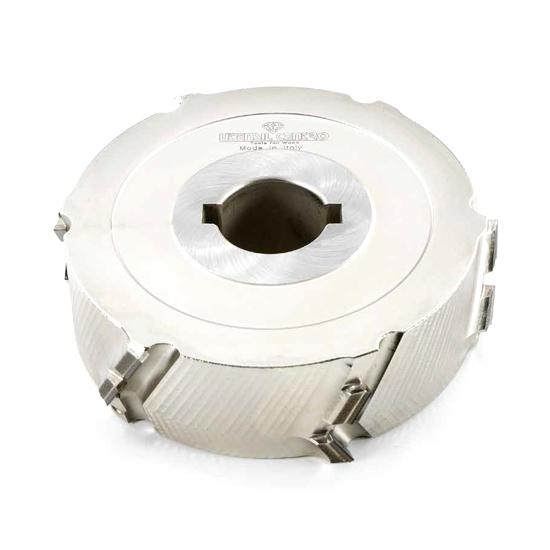 Teste antischeggia o a finire per macchine squadratrici o bordatrici (AXIAL 30°) - H=5 mm utensil centro