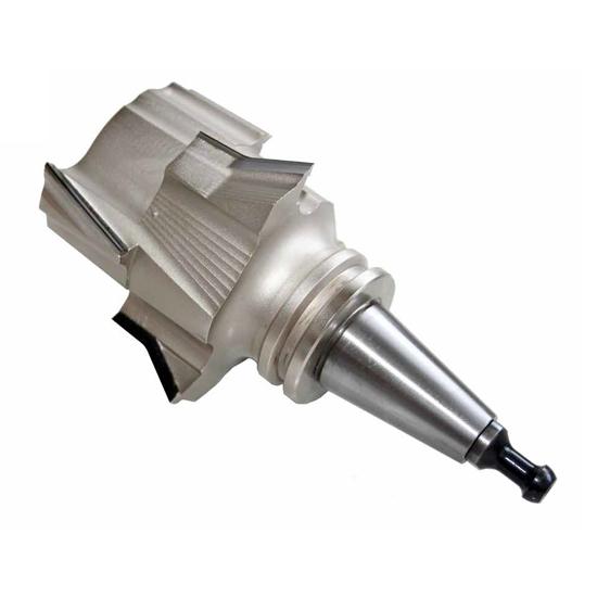 Frese per pantografo monoblocco costruite su HSK63F o ISO30 utensil centro